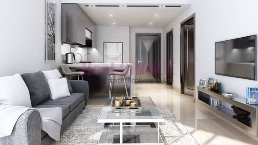 1 Elegant Furnished & Serviced 1-BR | 8% Net ROI