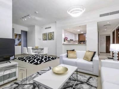 3 Bedroom Flat for Rent in Downtown Dubai, Dubai - Fully Furnished | 3bed+Maid | Burj Vista