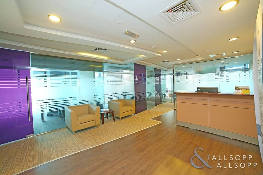 2 Partitioned Office | Lake View | Near Metro