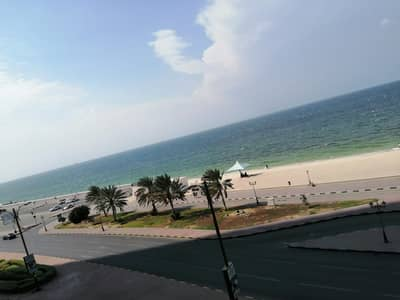 1 Bedroom Flat for Sale in Corniche Ajman, Ajman - full sea view  one bed 8year installment