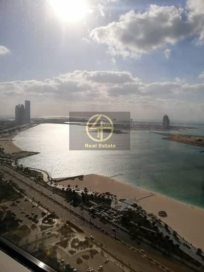3 Bedroom Flat for Rent in Corniche Area, Abu Dhabi - Sea View 3BR Apart full facilities In Al Cornish