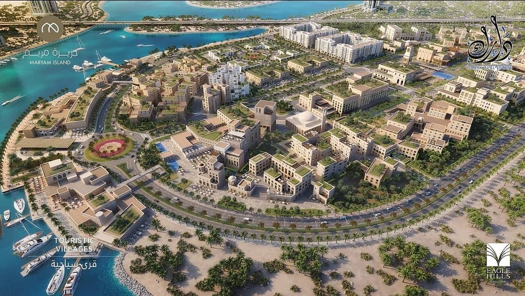 2 Own your apartment with the only waterfront in the middle of Sharjah
