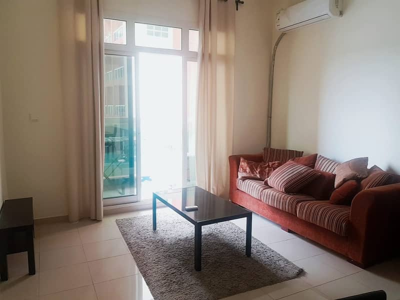 La Vista Residence 2: Fully Furnished One Bedroom With Balcony For Rent Only In 40000/-