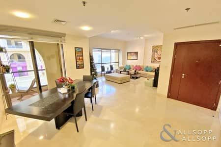 3 Bedroom Apartment for Sale in Jumeirah Beach Residence (JBR), Dubai - Shams 1 | Large Upgraded 3 Bedroom | Vacant