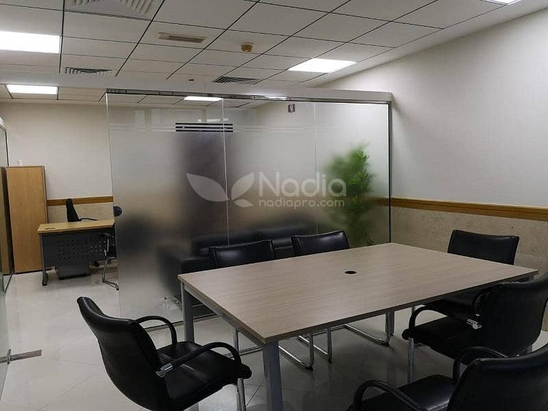 2 Furnished Office with Glass Partitions | Platinum Tower | JLT