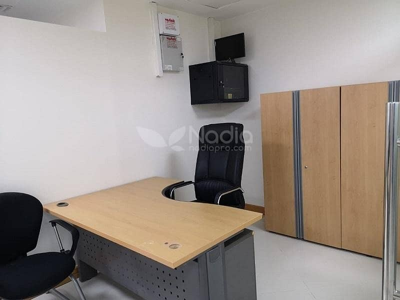 11 Furnished Office with Glass Partitions | Platinum Tower | JLT