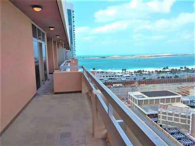 بنتهاوس 3 غرف نوم للايجار في الخالدية، أبوظبي - Fantastic Penthouse in Khalidiyah 3BR with Huge Balconies