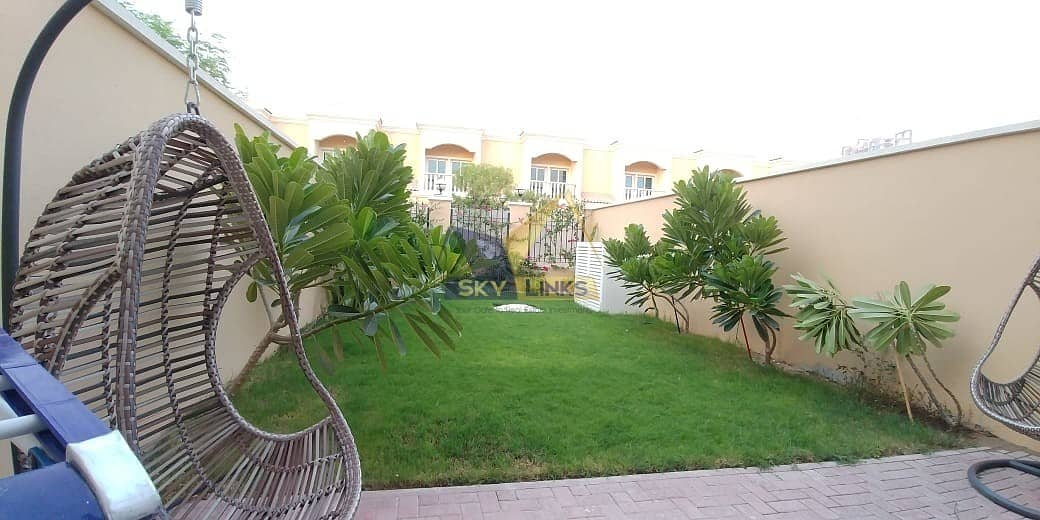 2 1BR Townhouse with Balcony and Garden in JVC