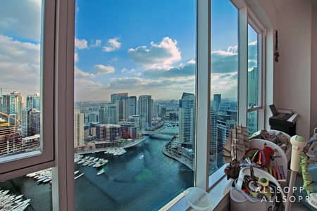3 Bedroom Apartment for Sale in Dubai Marina, Dubai - Vacant Soon | Full Marina View | 3 Bedroom