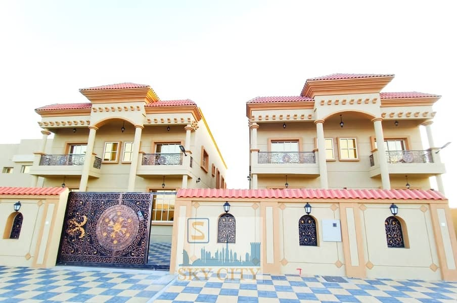 Owns one of the most luxurious villas in Ajman in terms of area, finishing and location;