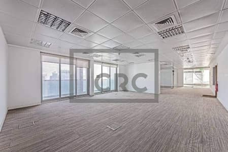 Floor for Sale in Jumeirah Lake Towers (JLT), Dubai - Fully Fitted Full Floor|Partitioned|Metro