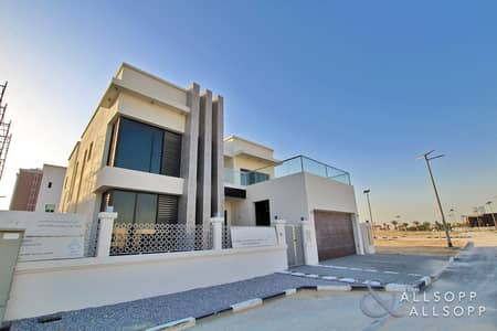 فیلا 5 غرف نوم للايجار في الفرجان، دبي - Brand New | 5 Bed | Marina Skyline Views