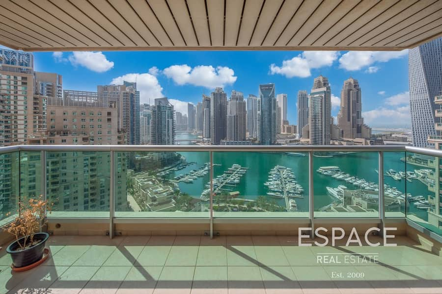 2 Full Marina View | 2 Beds | Study | Emaar 6