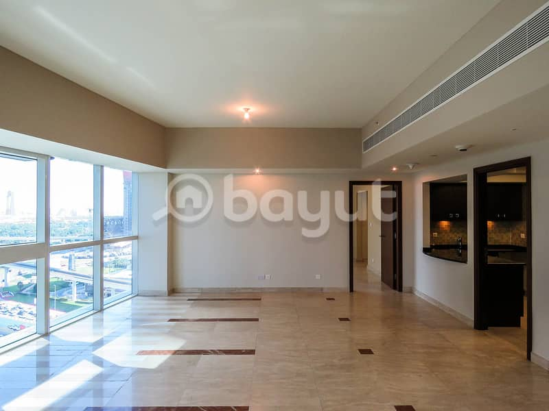 Special Deal for a Semi Furnished Luxury Apartment in a  prime location with breath taking  view & an open Kitchen