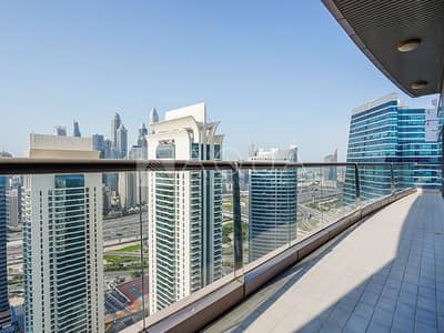 4 Bedroom Flat for Rent in Jumeirah Lake Towers (JLT), Dubai - Fantastic View from Balcony | Fully Furnished