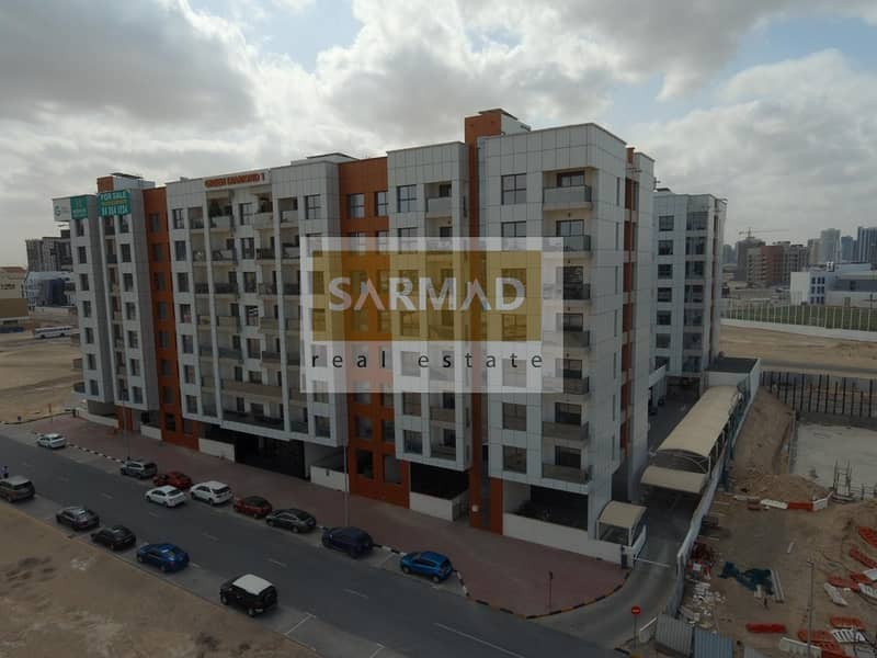 13 Monthly Rent Beautiful 2 Bedroom Apartment  in Green Diamond