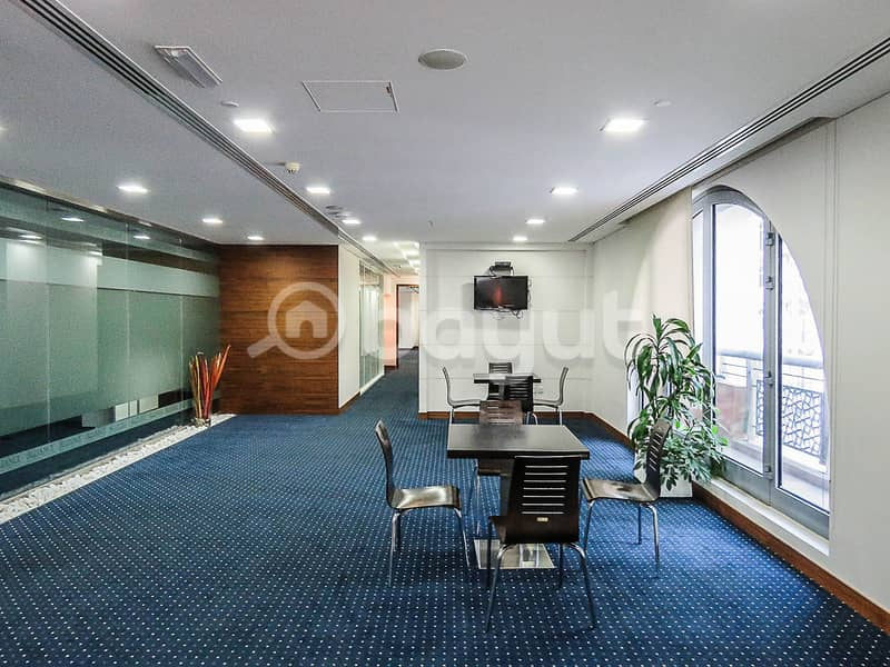 Fully Fitted Office | Business Village - Deira