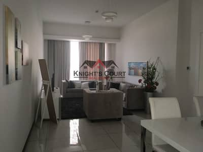 2 Bedroom Apartment for Rent in Jumeirah Village Circle (JVC), Dubai - Fully Furnished - Luxury Unit - Near Circle Mall JVC