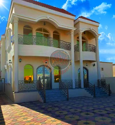 5 Bedroom Villa for Sale in Al Mowaihat, Ajman - New villa with modern interiors for sale - water and electricity