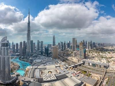 شقة 3 غرف نوم للايجار في وسط مدينة دبي، دبي - 3 Bedroom + M I Multiple Options I High Floor