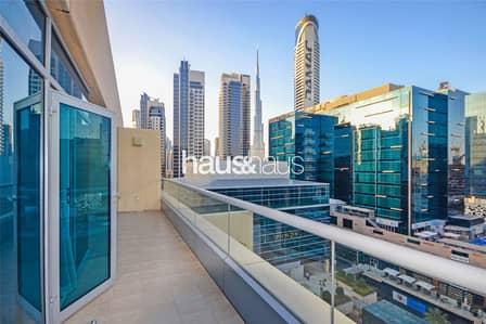 شقة 1 غرفة نوم للايجار في الخليج التجاري، دبي - Burj Khalifa View| One Bed| 1