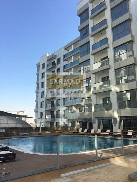 10 2 Bedroom Apartment with Kitchen Appliances in Green Diamond for Rent