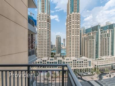 2 Bedroom Flat for Rent in Downtown Dubai, Dubai - Well Maintained | Chiller Free | Fountain View