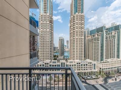 فلیٹ 2 غرفة نوم للايجار في وسط مدينة دبي، دبي - Well Maintained | Chiller Free | Fountain View