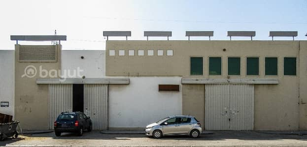 Warehouse for Rent in Industrial Area, Sharjah - Dhs.16/- per Sqft  Warehouse in IND Area NO.18 Behind Economic Department with 1 month free