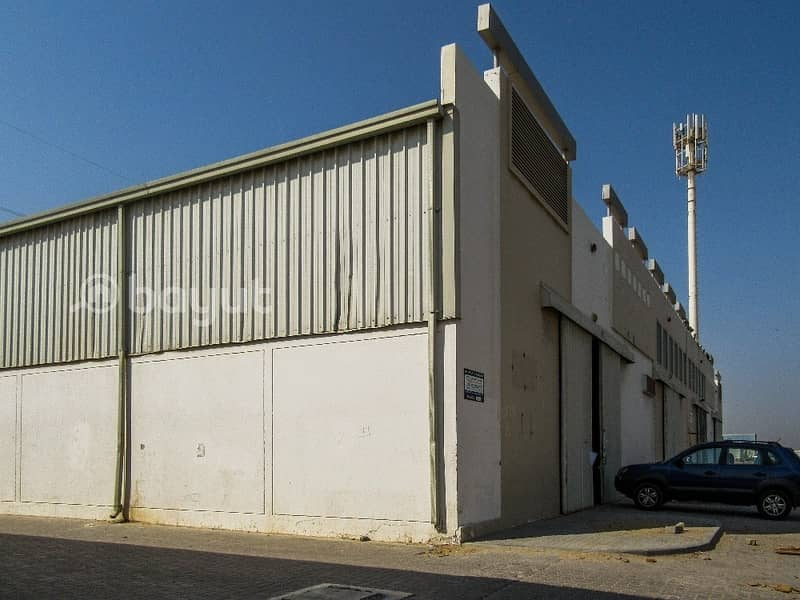 2 Dhs.16/- per Sqft  Warehouse in IND Area NO.18 Behind Economic Department with 1 month free