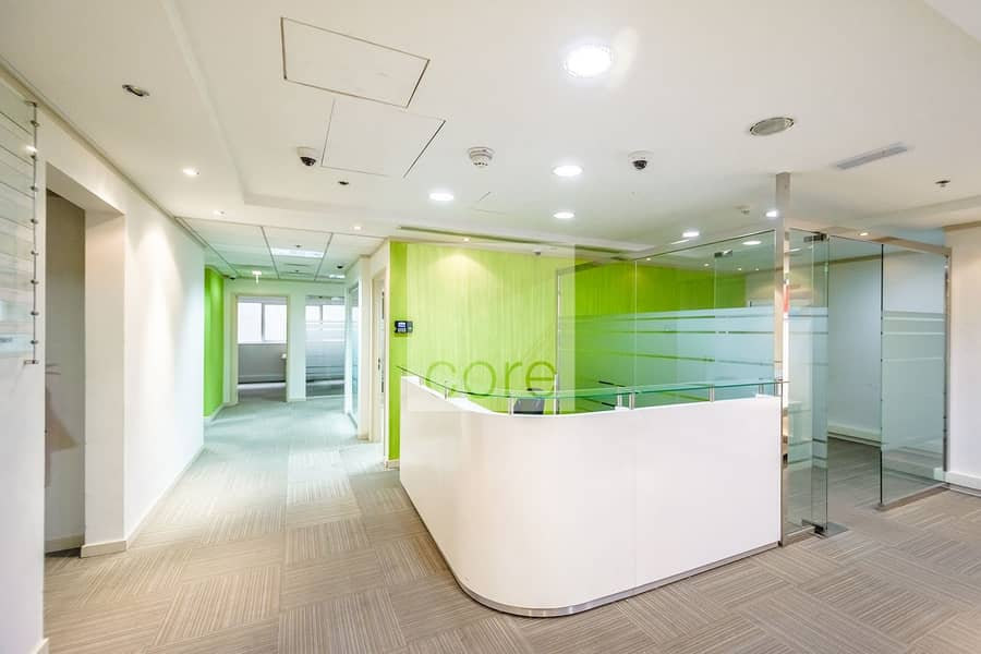 Vacant | Fitted and Furnished Office