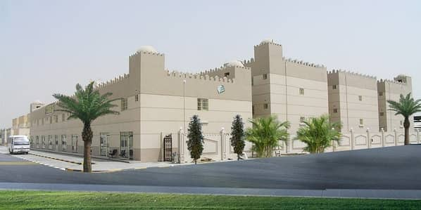Labour Camp for Rent in Industrial Area, Sharjah - Studio type Labor room available in Industrial area no.12