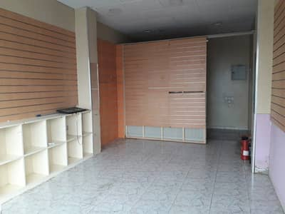 2 Doors Shop available on Main road in Muweilah