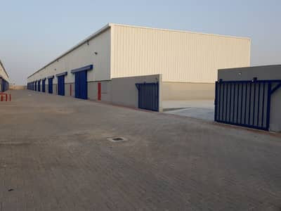 Warehouse for Rent in Al Saja, Sharjah - 2 MONTHS FREE-BRAND NEW WAREHOUSE IN SAJAA BEHIND SHARLU SHARJAH WITH 16 per Sqft
