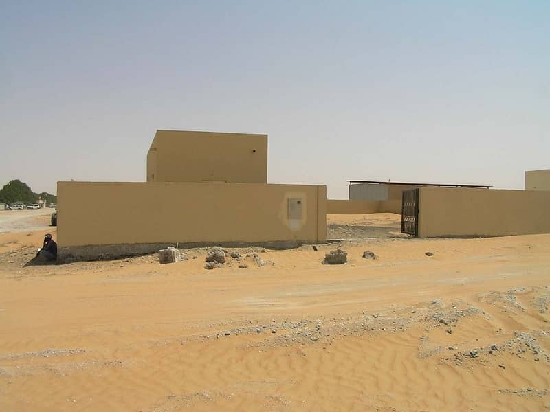 2 000 SQFT OPENLAND WITH OFFICE IN AL BATAYIH