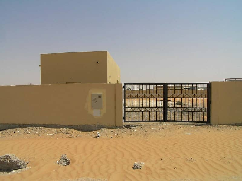 8 000 SQFT OPENLAND WITH OFFICE IN AL BATAYIH