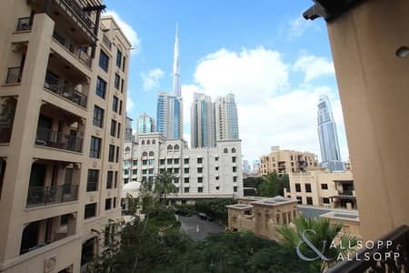 2 Bedroom Apartment for Rent in Old Town, Dubai - Khalifa Views | 2 Bedroom | Chiller Free