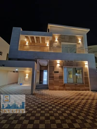 5 Bedroom Villa for Sale in Al Mowaihat, Ajman - Super Deluxe Villa in a very good location near Emirates Road