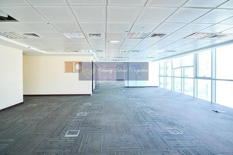 2 Partitioned Office | Full Floor | Cluster F | Rent - JLT