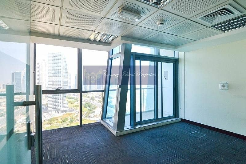 10 Partitioned Office | Full Floor | Cluster F | Rent - JLT
