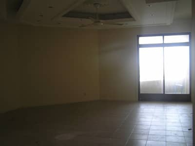 2 Bedroom Apartment for Rent in Al Shuwaihean, Sharjah - Spacious 2 B/R Hall flat with Split ducted A/C & sea view in Corniche Are