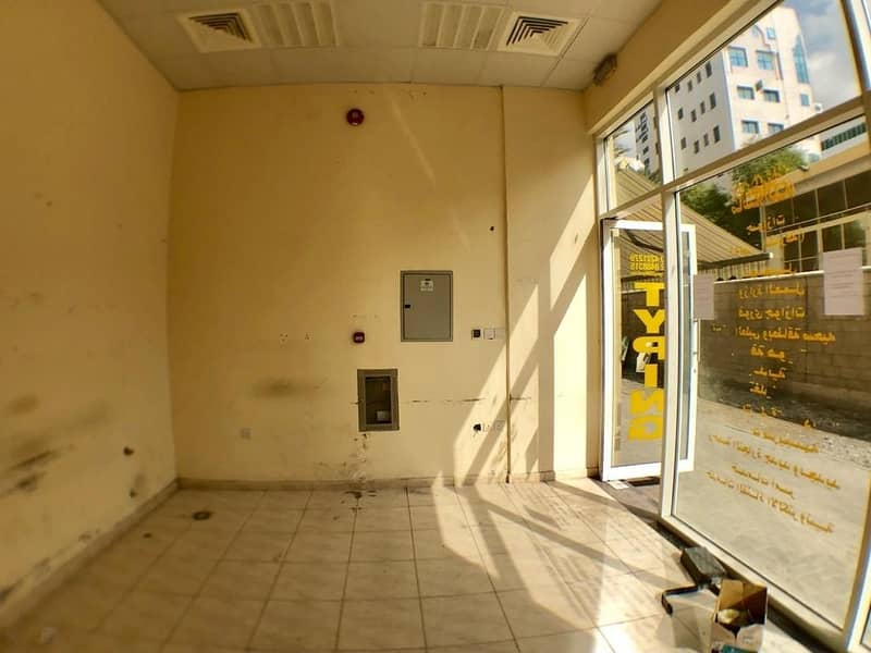 2 SHOP AVAILABLE IN AL GHUWAIR AREA
