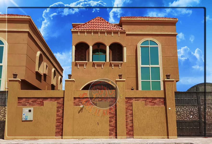 Modern villa with upscale interiors for sale