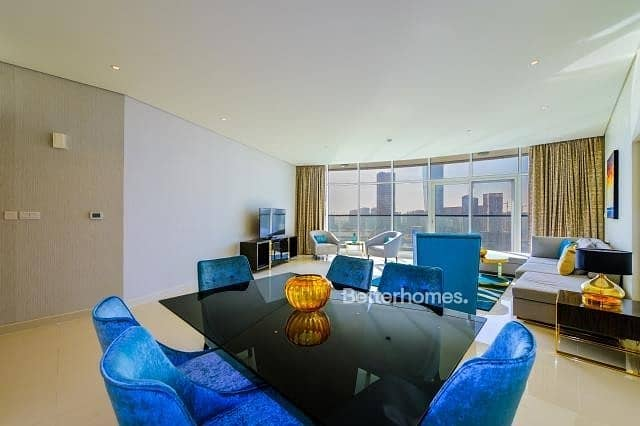 2 Furnished | High Floor | Full Canal View