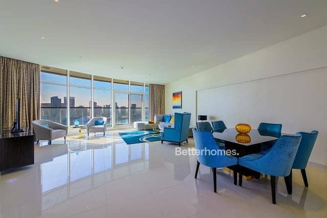 Furnished | High Floor | Full Canal View