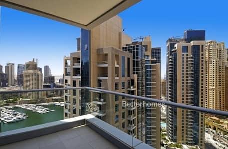 2 Bedroom Flat for Sale in Dubai Marina, Dubai - High Floor | Marina View |Upgraded Bathrooms