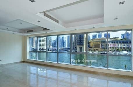 فیلا 4 غرف نوم للبيع في دبي مارينا، دبي - Full Marina VIew|4 Bed Villa|Bay Central.