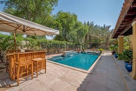 فیلا 6 غرف نوم للبيع في المرابع العربية، دبي - Type 18 | 6 Beds | Private Pool | Single Row