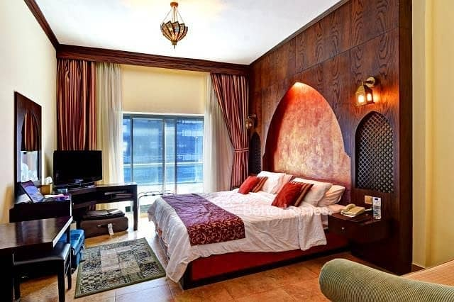 Lowest Price Studio - First Central Hotel Apartment!