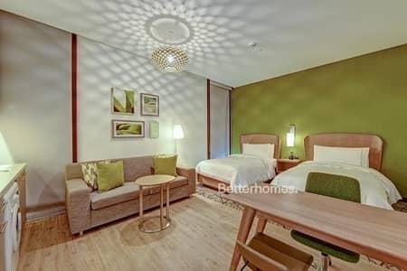 شقة فندقية  للايجار في مدينة دبي للإنتاج، دبي - Fully Furnished Studio type Hotel Apartment in IMPZ